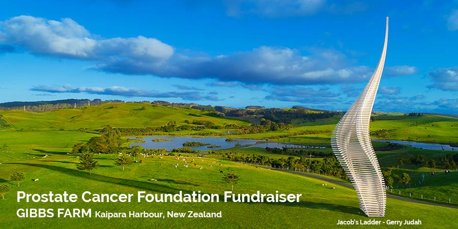 Prostate Cancer Foundation NZ Gibbs Farm Fundraiser