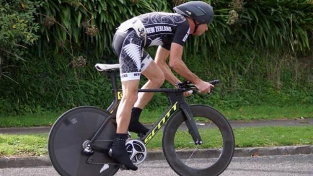 World Champion Cyclist Jim McMurray